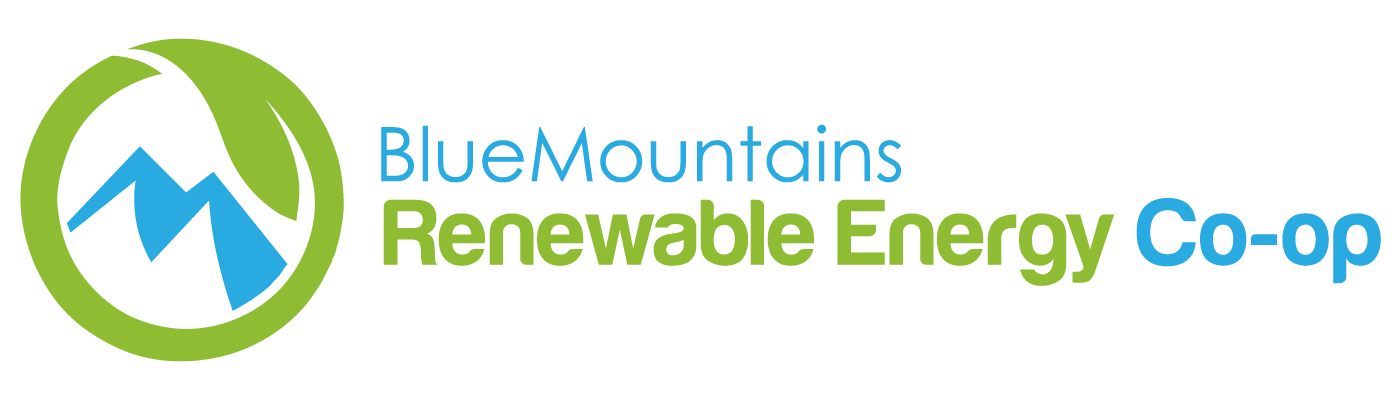 Blue Mtns Renewable Energy Co-op Logo