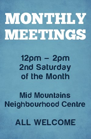 Monthly Meetings Promo 2015
