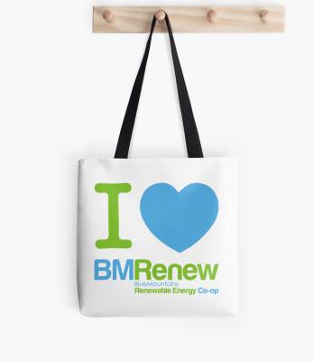 I <3 BMRenew Tote Bag