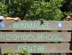 Morna Colbran (Winmalee Neighbourhood Centre) & Erland Howden (Blue Mtns Renewable Energy Co-op)