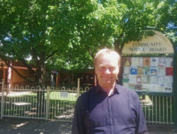 Sunny photo of manager Mick Barrett at Mid Mtns Neighbourhood Centre