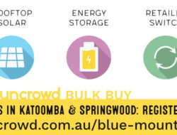 Suncrowd solar & battery bulk-buy in the Blue Mountains