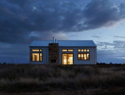 House at night with lights - Inspiration DE